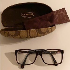 "Coach ""Addison"" Glasses with Case"